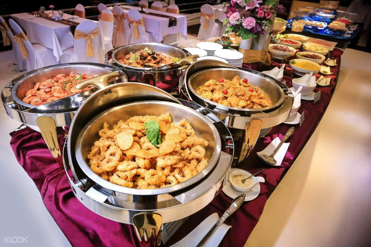 湄南之星公主號國際美食自助餐