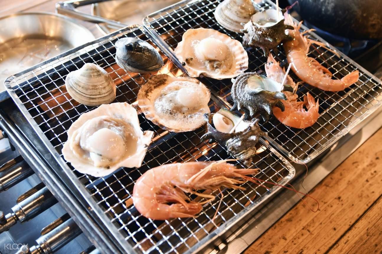 odawara seafood lunch