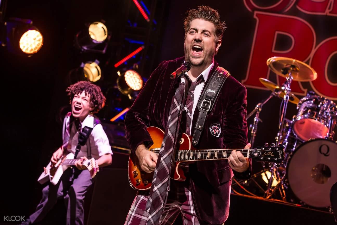 美国 纽约「摇滚校园」纽约百老汇音乐剧门票