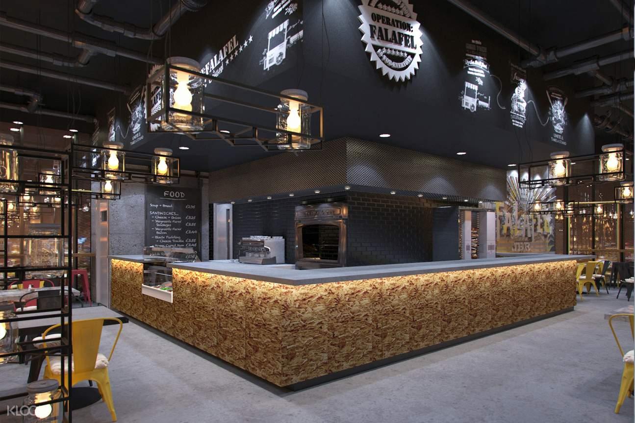 operation falafel dubai mall