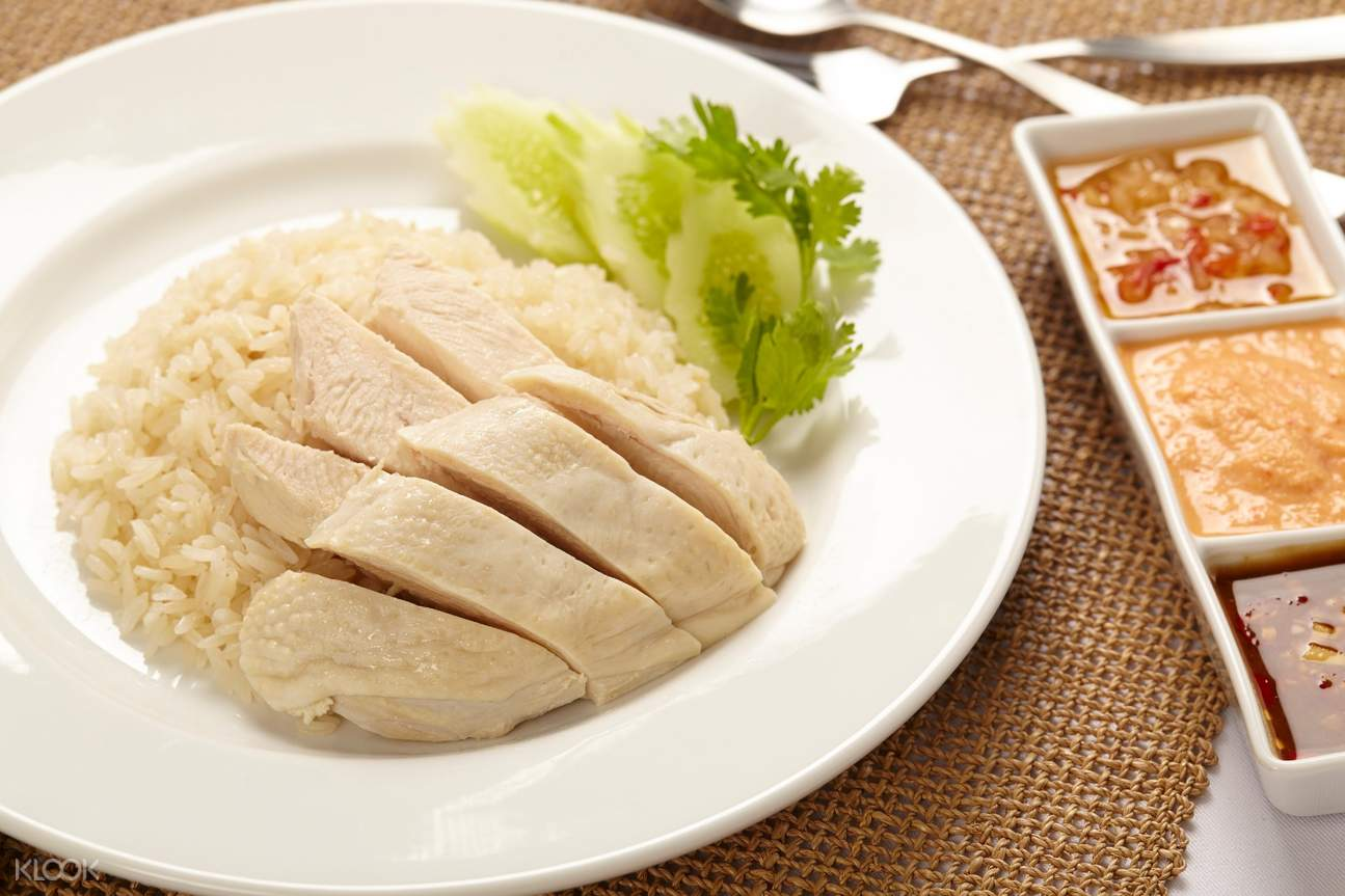 soya chicken rice in singapore food tour