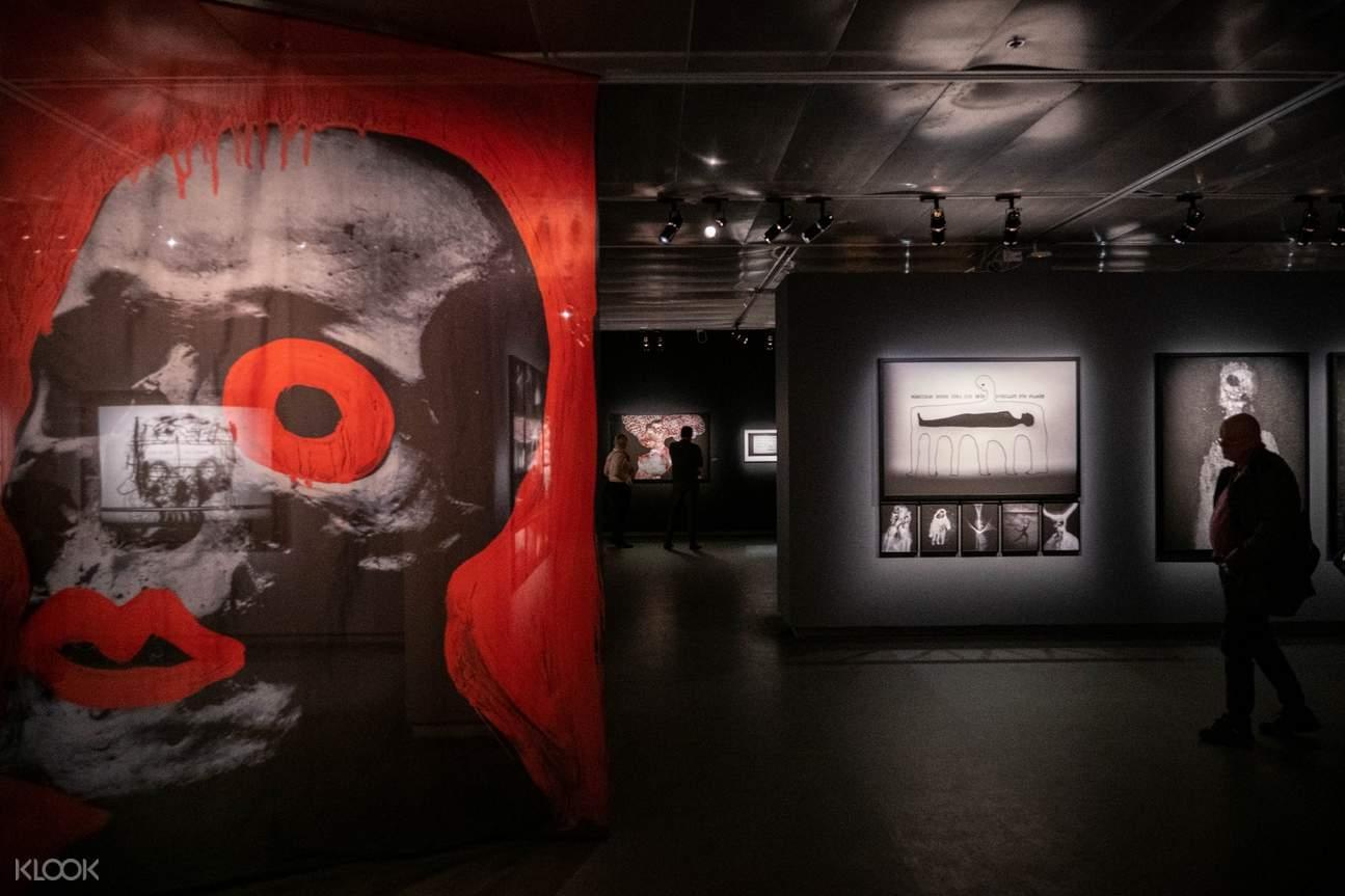 photo exhibits at Fotografiska Museum
