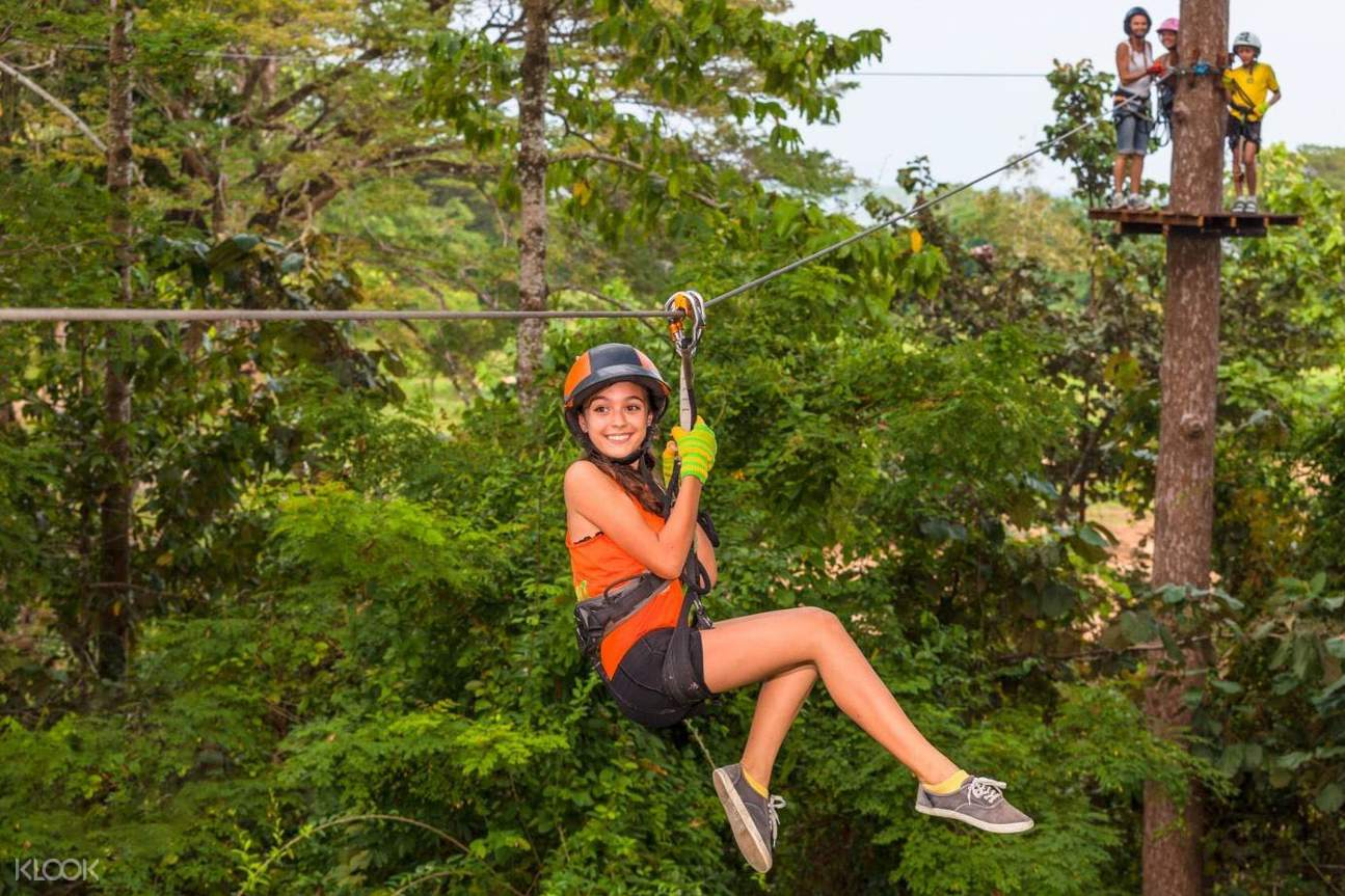 Krabi Fun Park Zipline Adventure