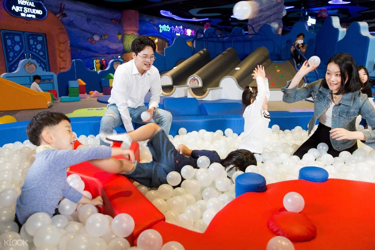 乐天世界儿童主题乐园,乐天世界海底王国门票,韩国亲子游