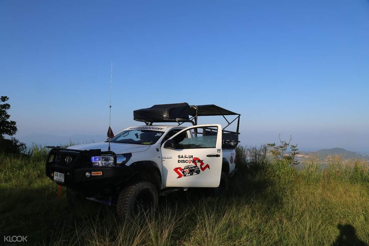 泰国苏梅岛4X4越野车环岛一日游
