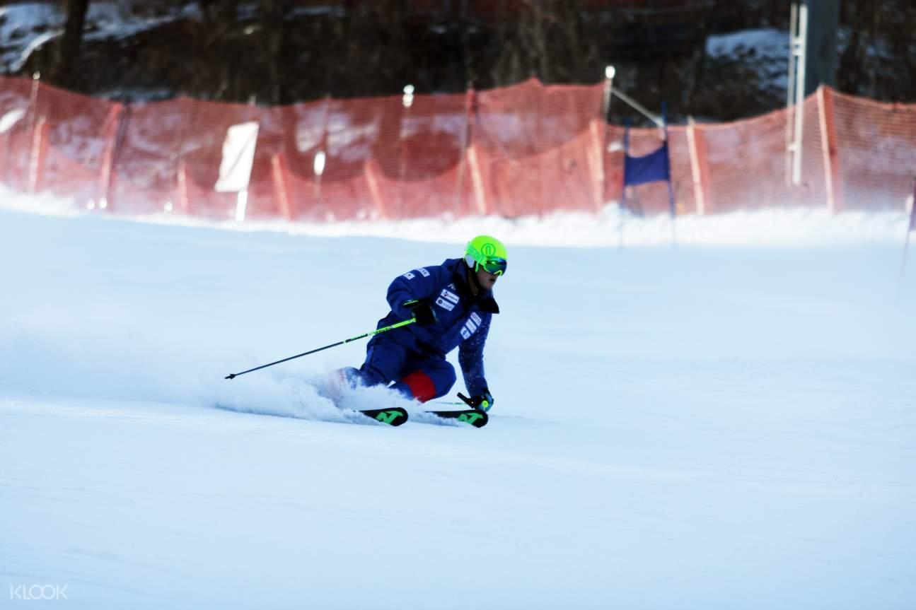 snowboarding or skiing yongpyong resort