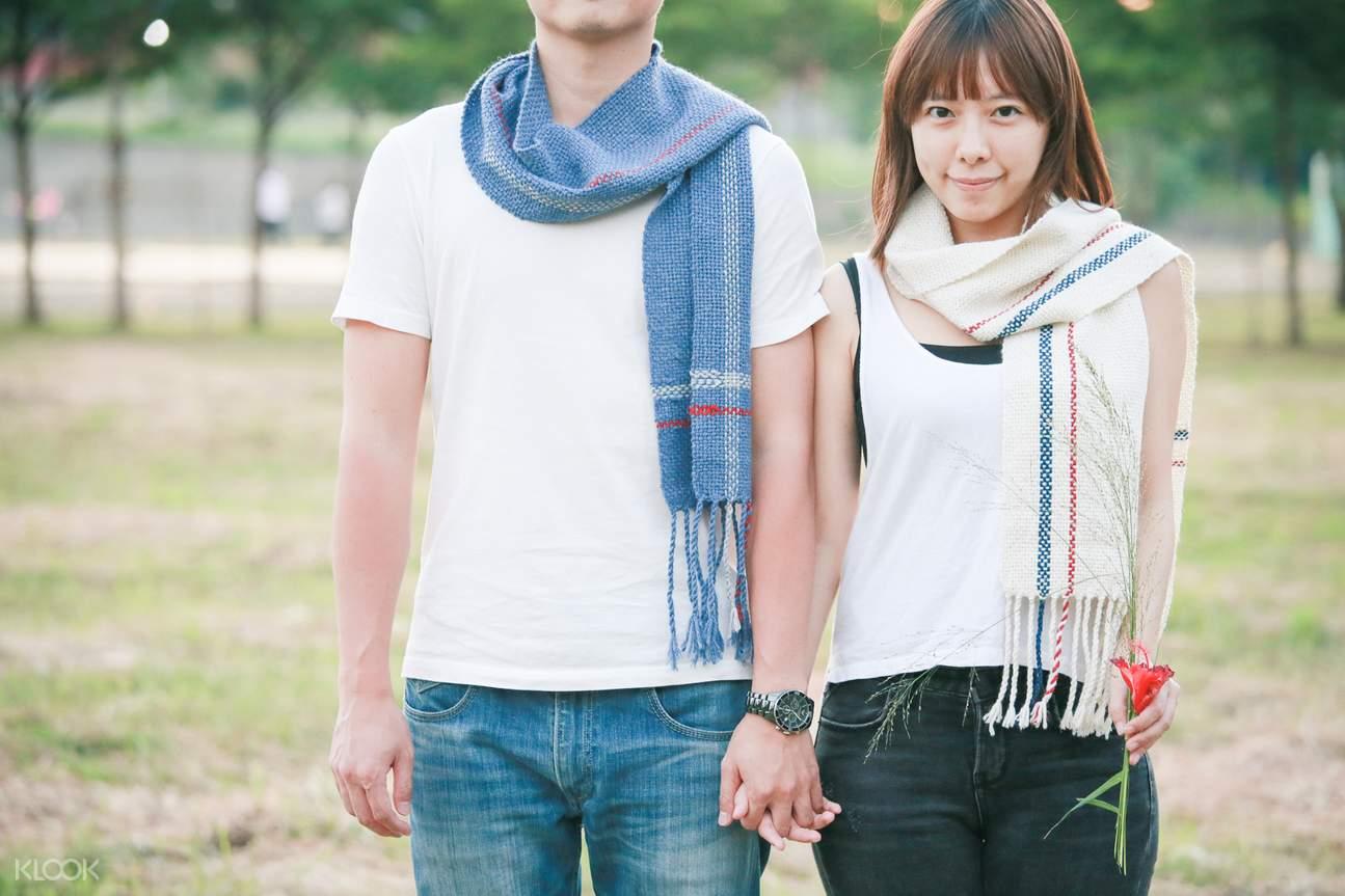 hanwoven scarf lesson taipei city