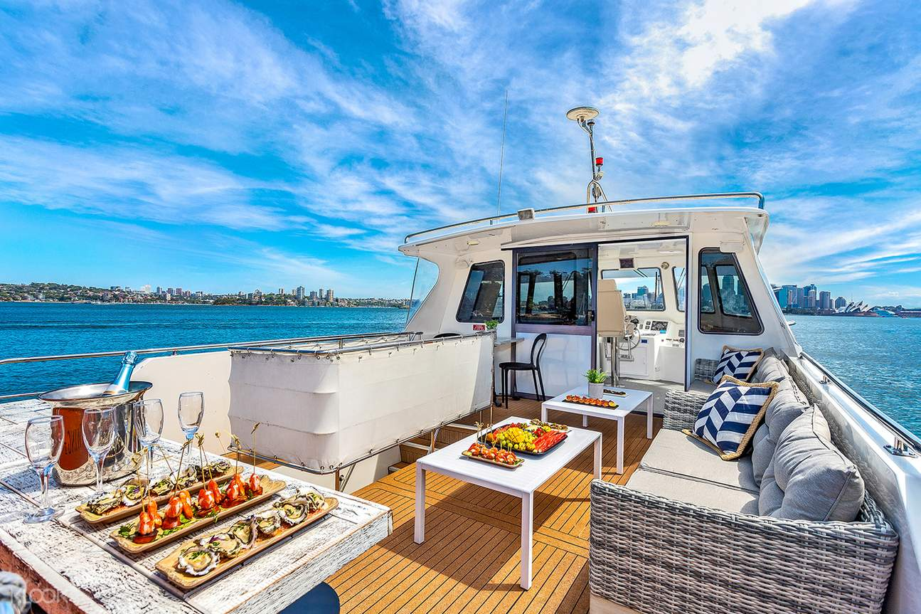 vivid canape and cocktail cruise