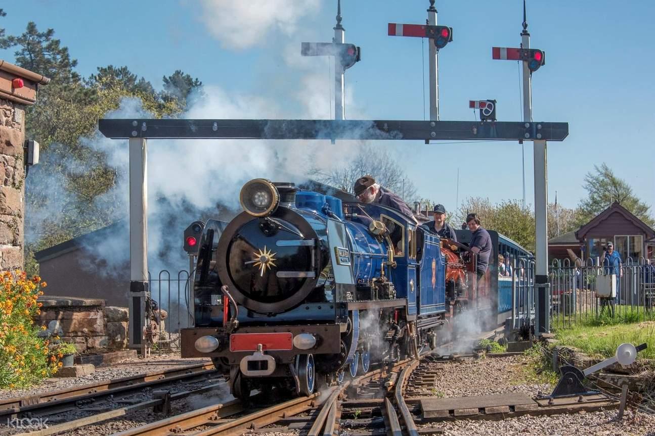 Ravenglass and Eskdale Railway miniature train