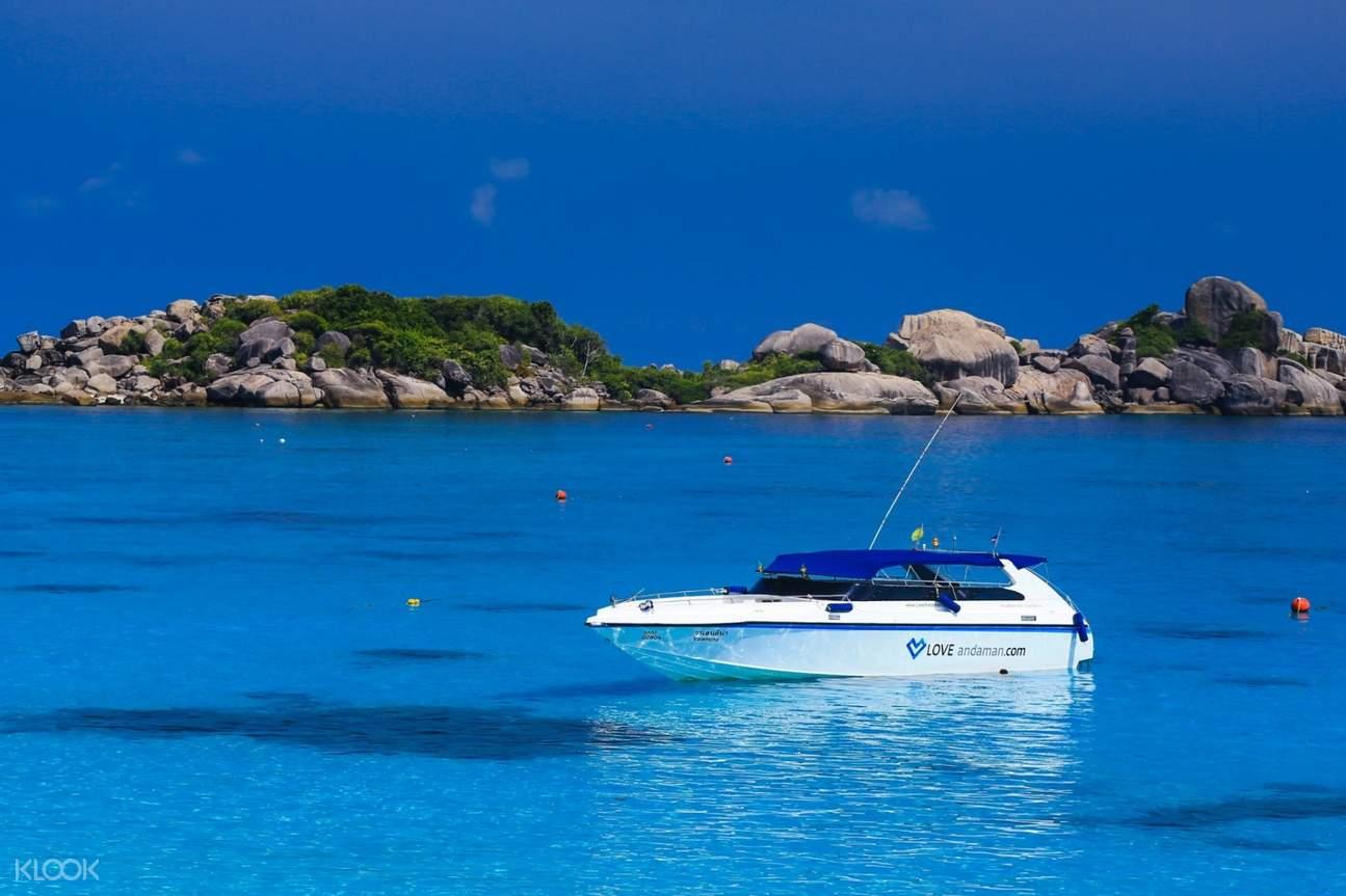 Andaman speedboat