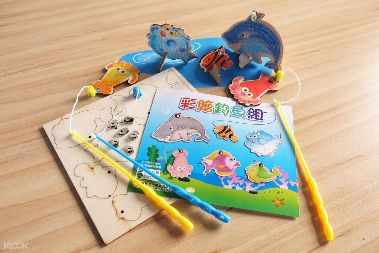 彩繪釣魚組DIY