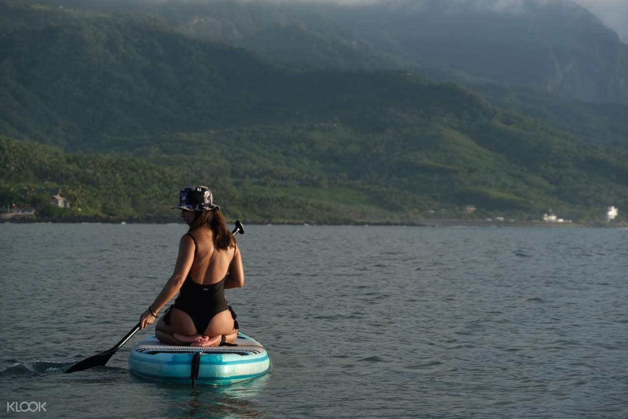 台東東海岸立式划槳體驗