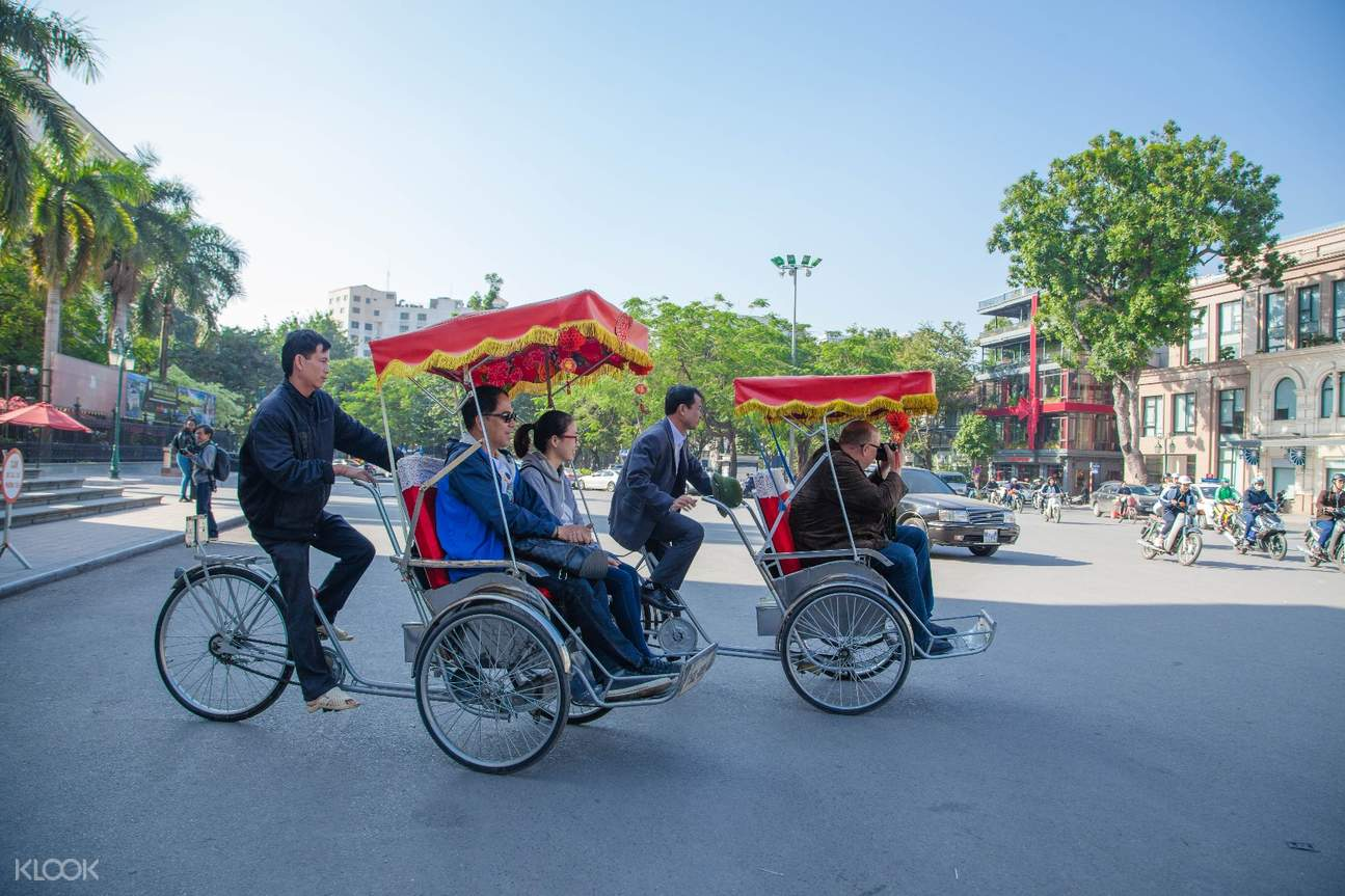 越南 河内街头美食半日游(徒步探索 & 人力车体验)