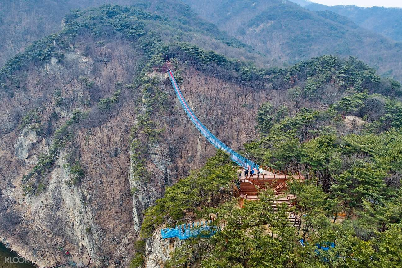 Wonju suspension bridge sogeumsan