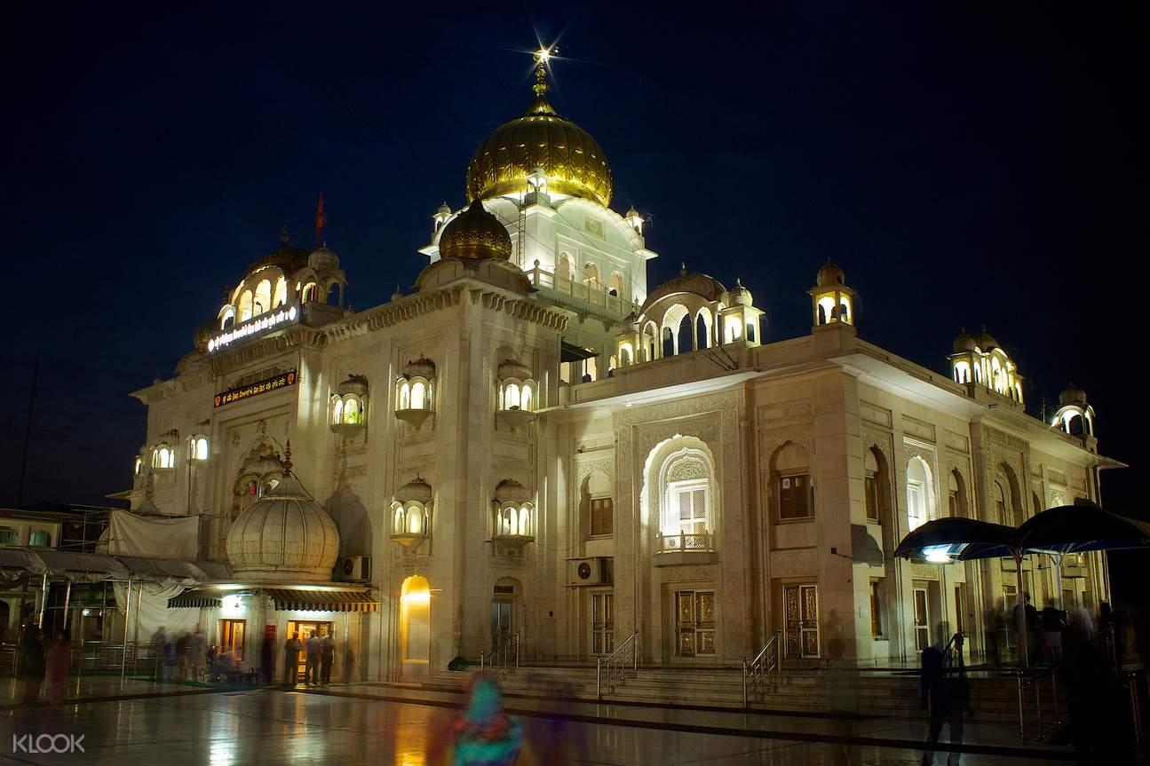 德里,Bangla sahib寺庙,哈奴曼寺庙
