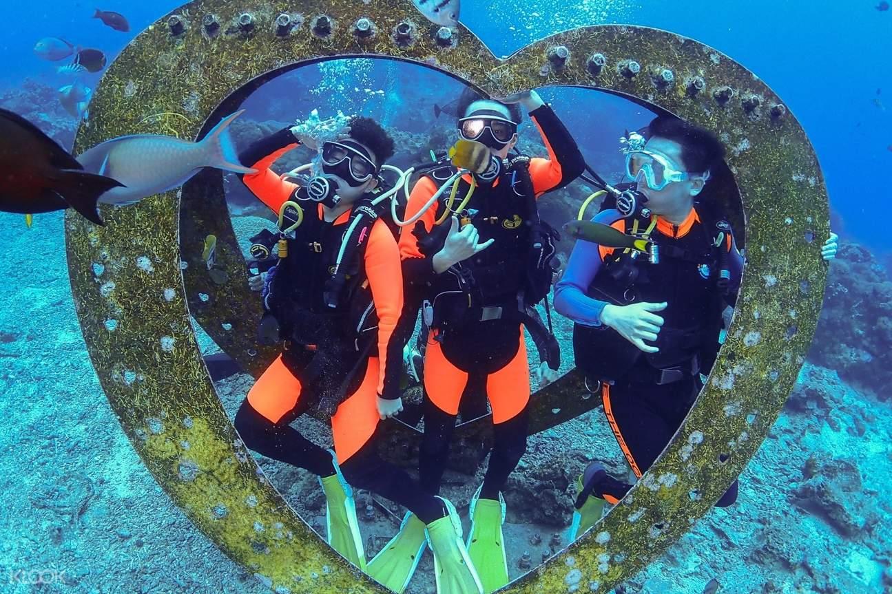 【綠島潛水證照】4天3夜PADI初階開放水域課程