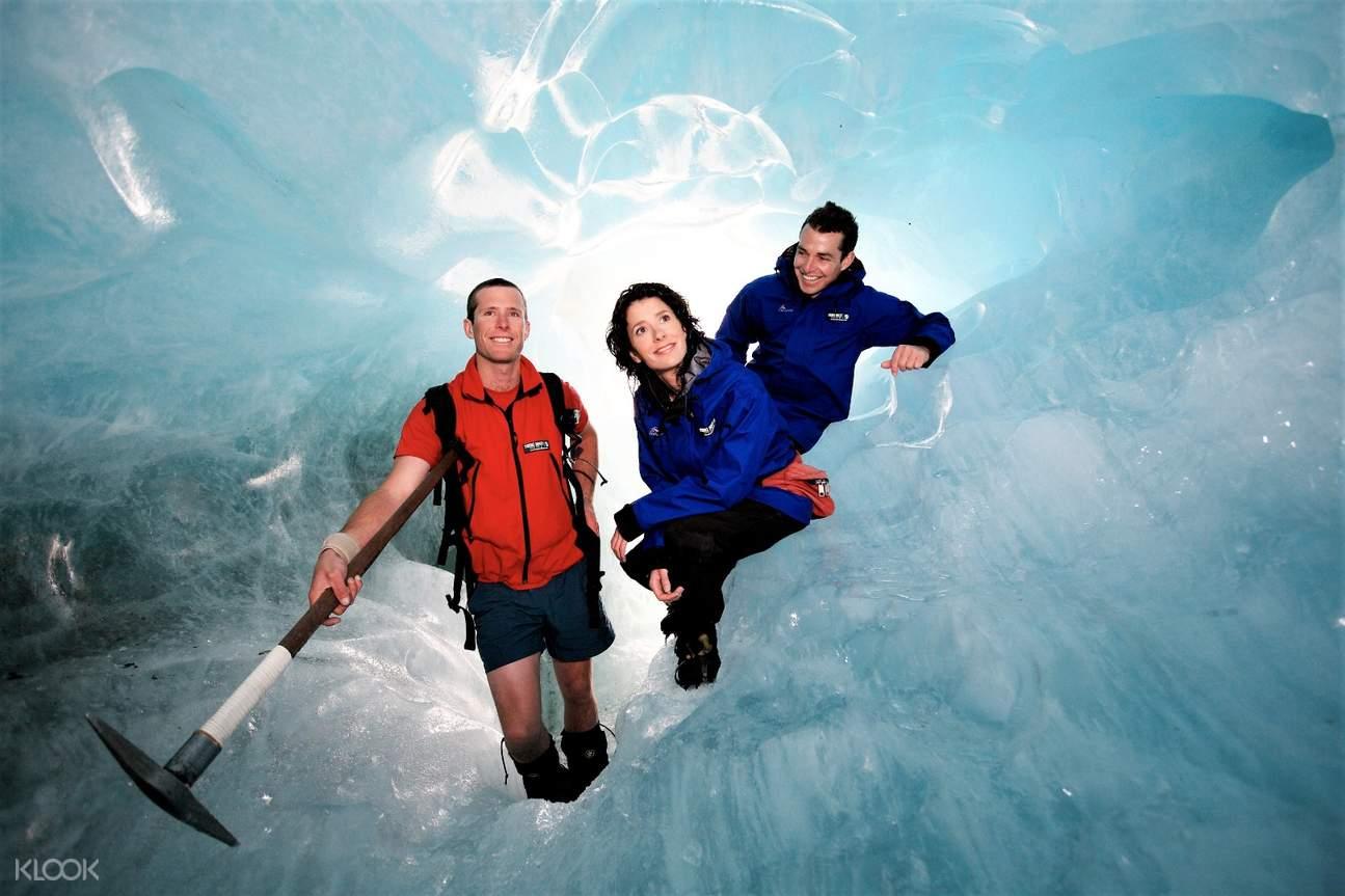 heli hike franz josef glacier