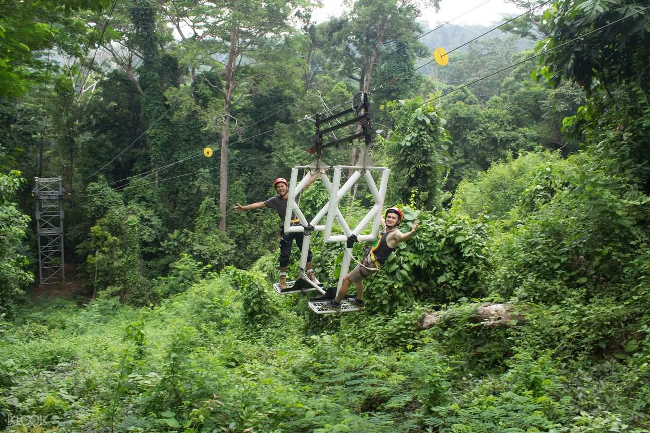 蘇比克樹頂冒險樂園 銀色衝浪