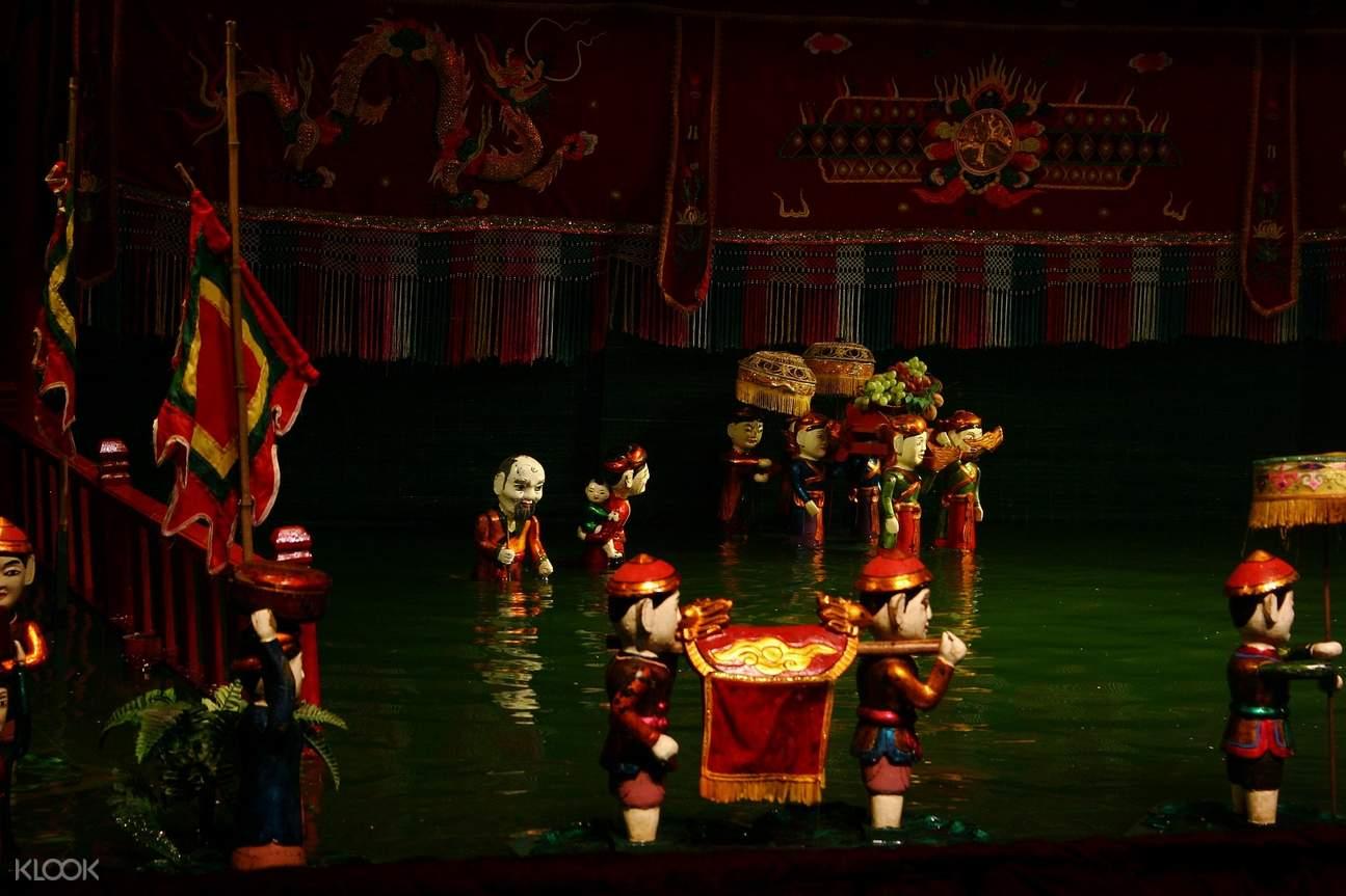 越南 河内 水上木偶戏