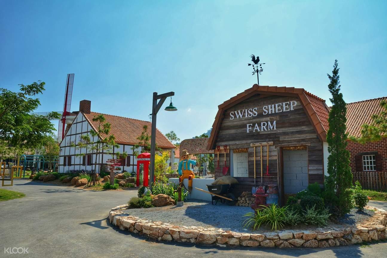 芭提雅绵羊,芭提雅农场,芭提雅绵阳农场,芭提雅亲子活动