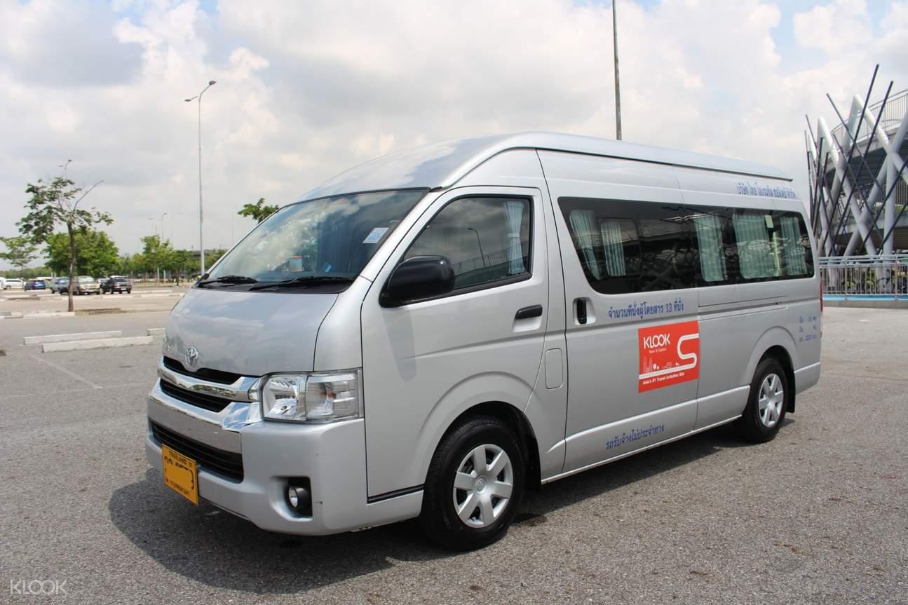 private van bangkok car charter