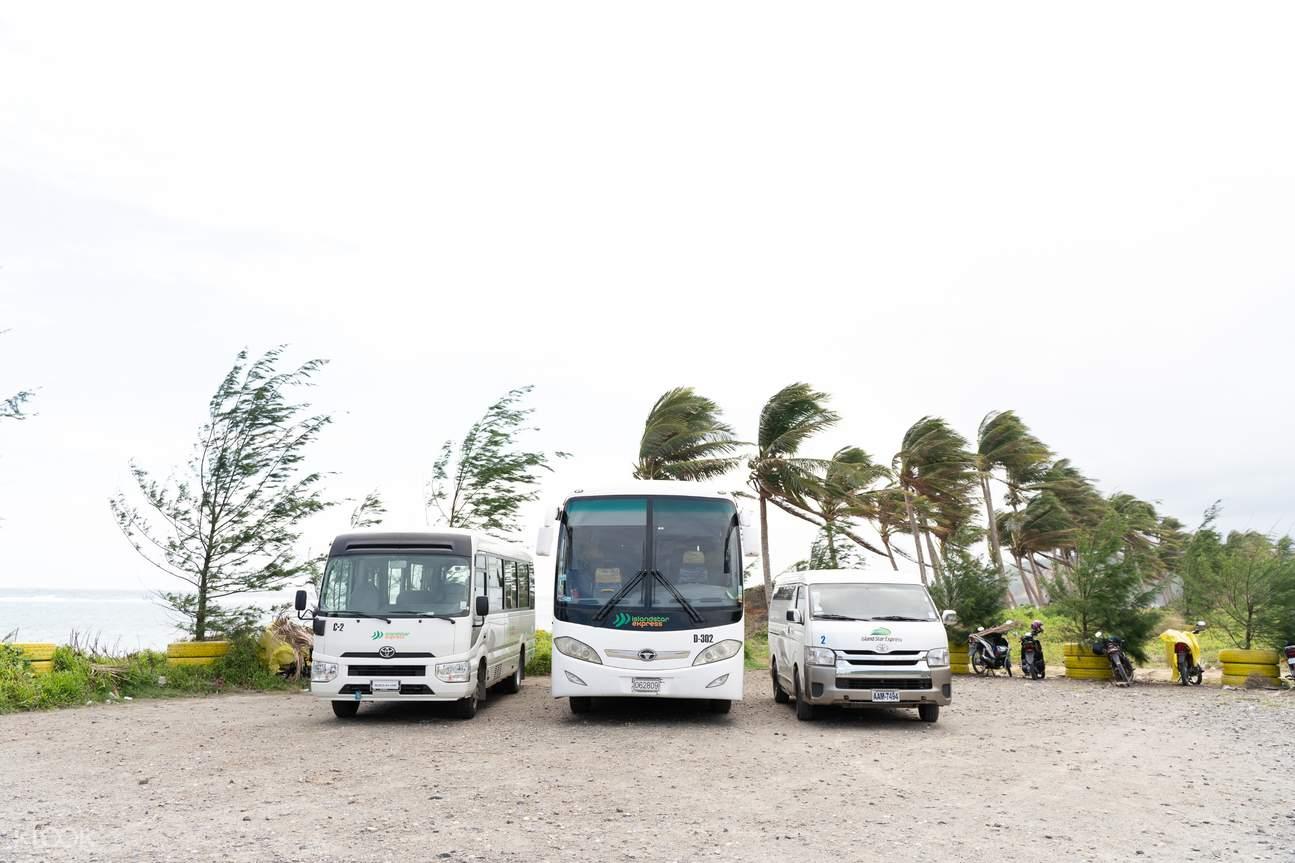 Island Star Kalibo International Airport (KLO) transfer fleet