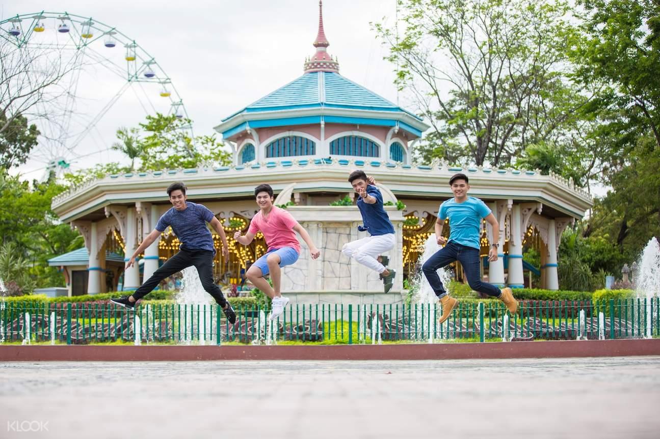 carousel enchanted kingdom laguna manila philippines