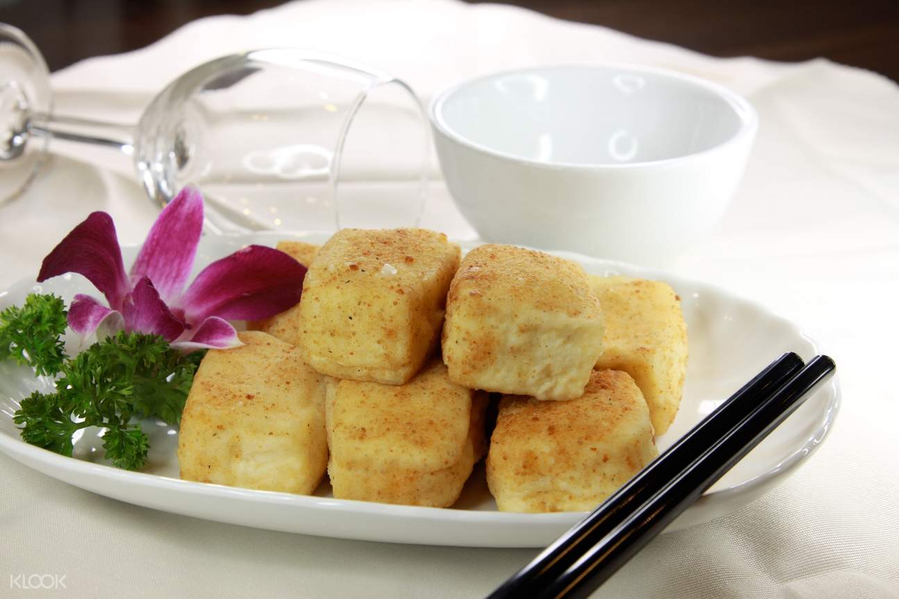 deep fried spicy bean curd delicious kitchen