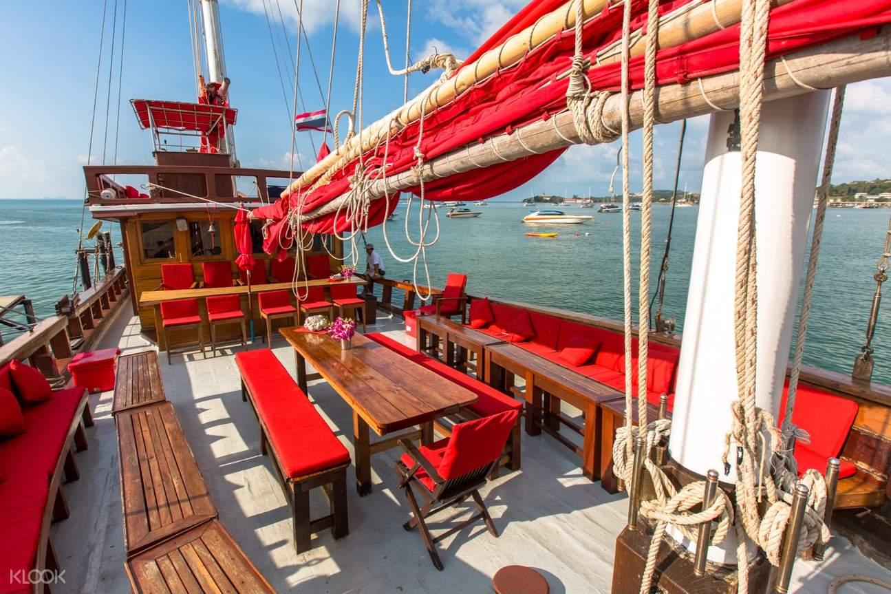 red baron cruise ship