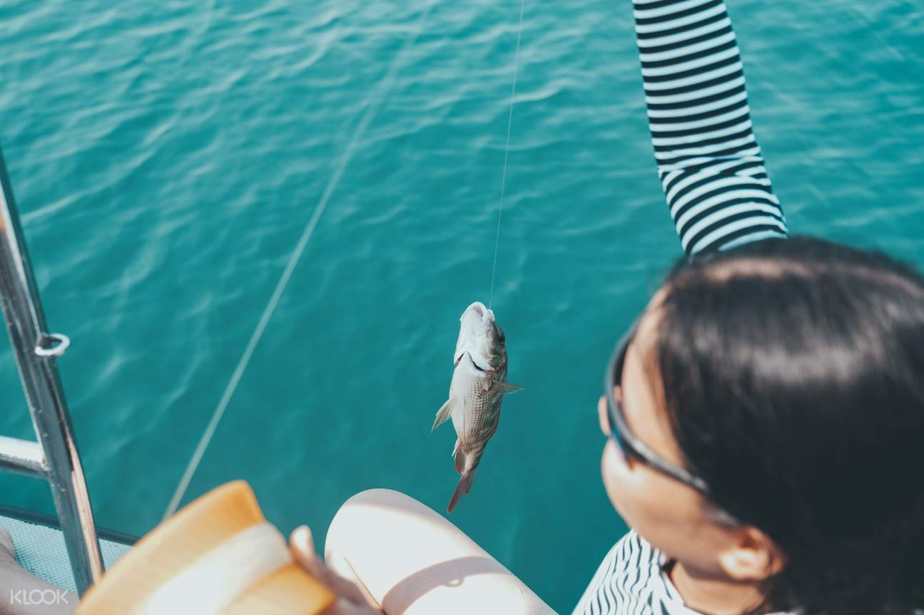 Our tour guide will also show you how to fish with a traditional fishing equipment