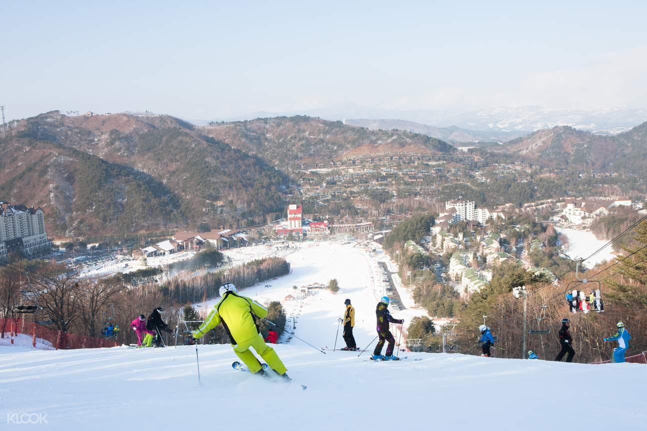 yongpyong resort ski tour