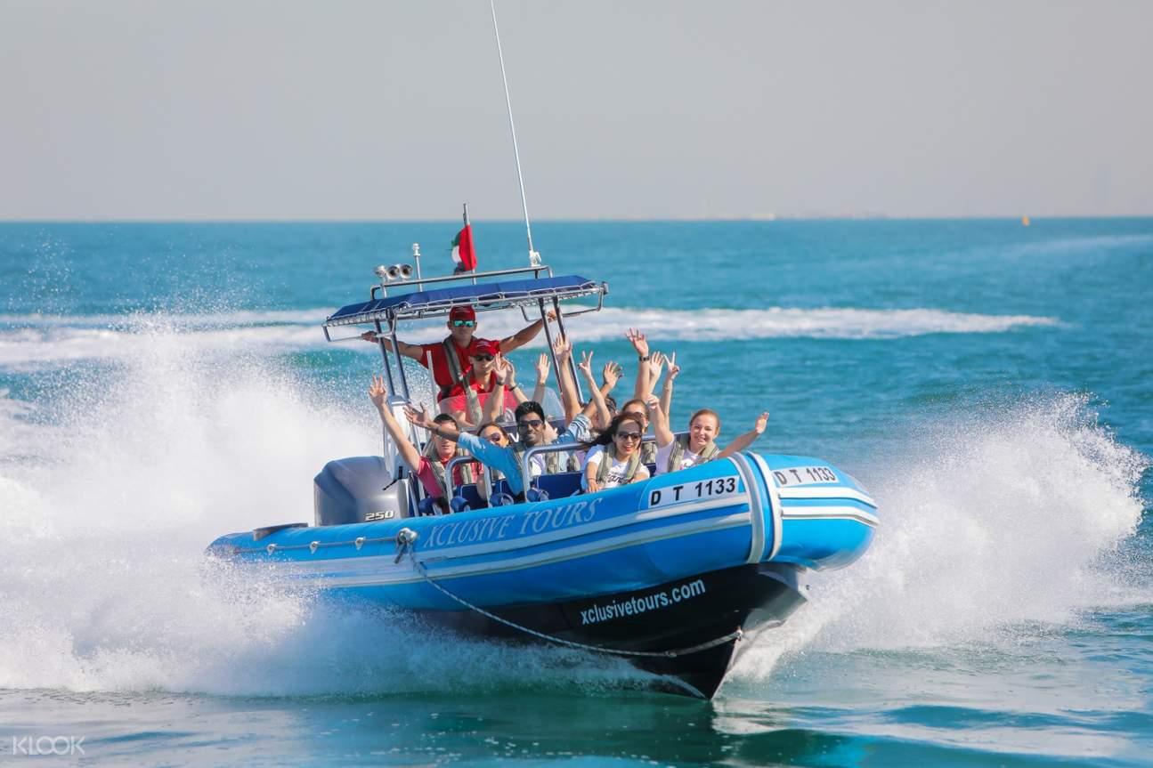 迪拜 朱美拉棕榈岛 & 棕榈泻湖游船