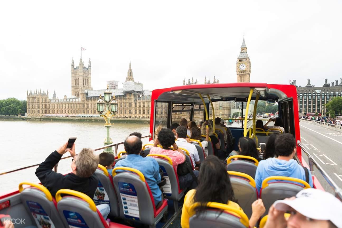 london city tour bus
