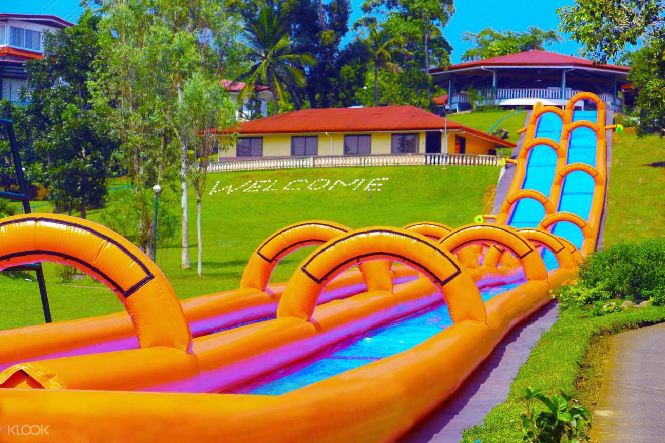 super slide at caliraya