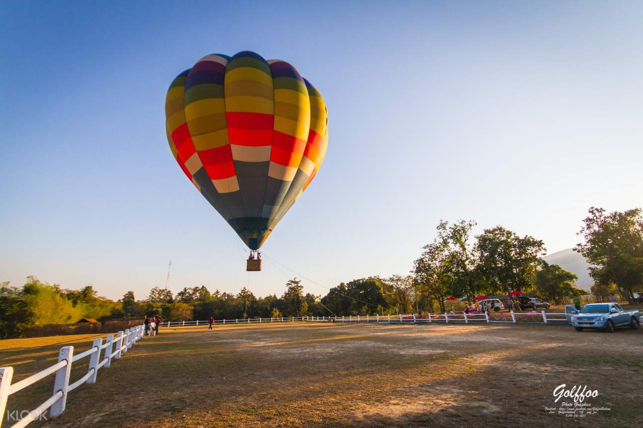 Tethered Hot Air Balloon Ride in Chiang Mai, Thailand - Klook