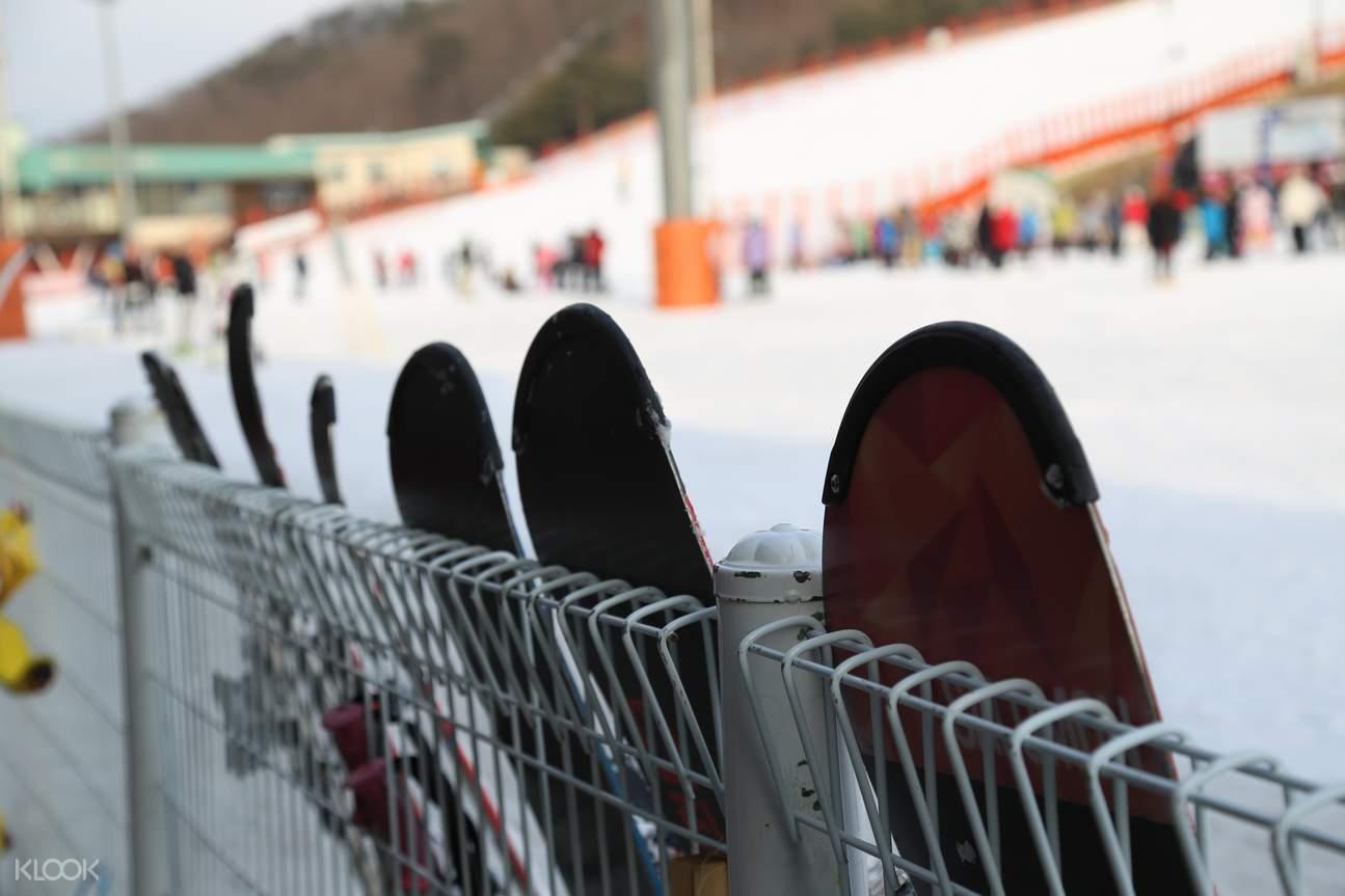 incheon airport private transfer ski resort