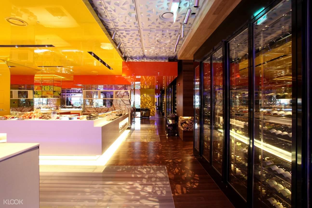interior of La Seine Buffet at Lotte Hotel Seoul