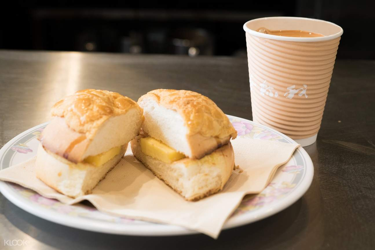 Buttered Pineapple Bun at My Cup Of Tea in Wan Chai