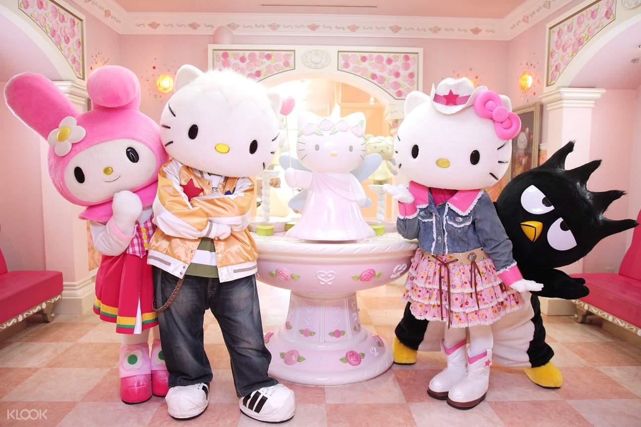 景點接載樂高樂園&Hello Kitty樂園