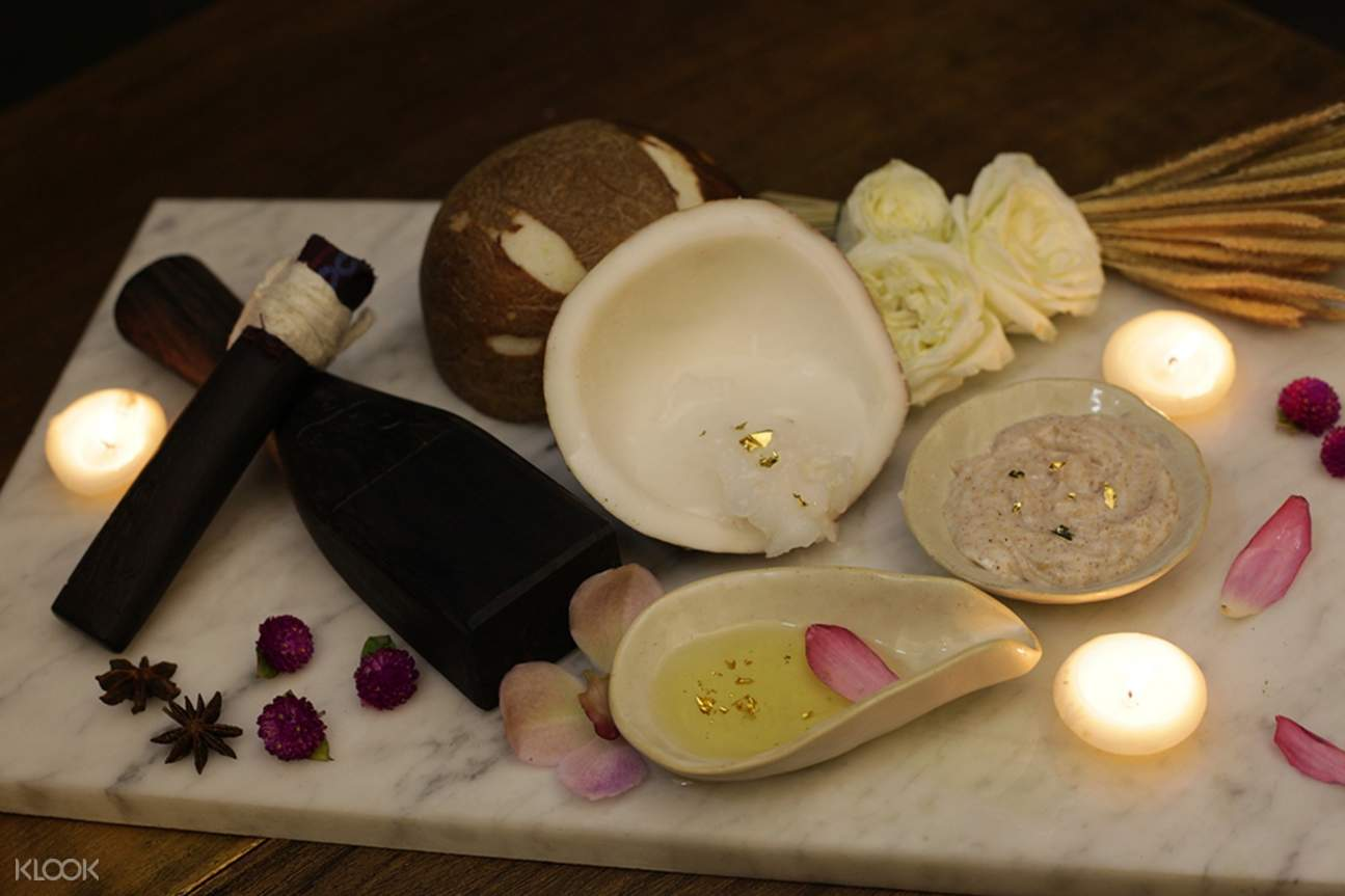 Scrub Ingredients at Pimantip Spa Packages in Chiang Mai