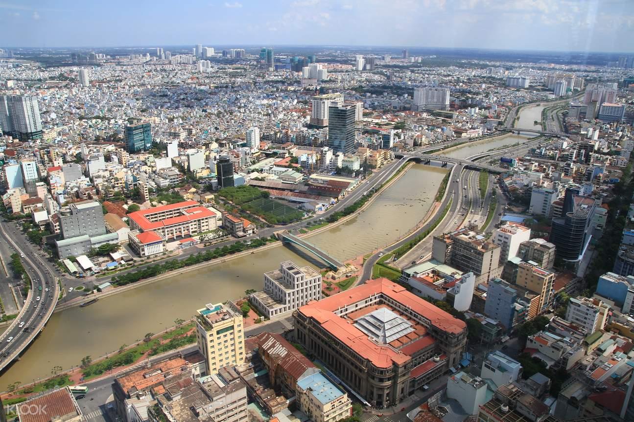 西貢金融塔,西貢觀景台,西貢高空觀景台