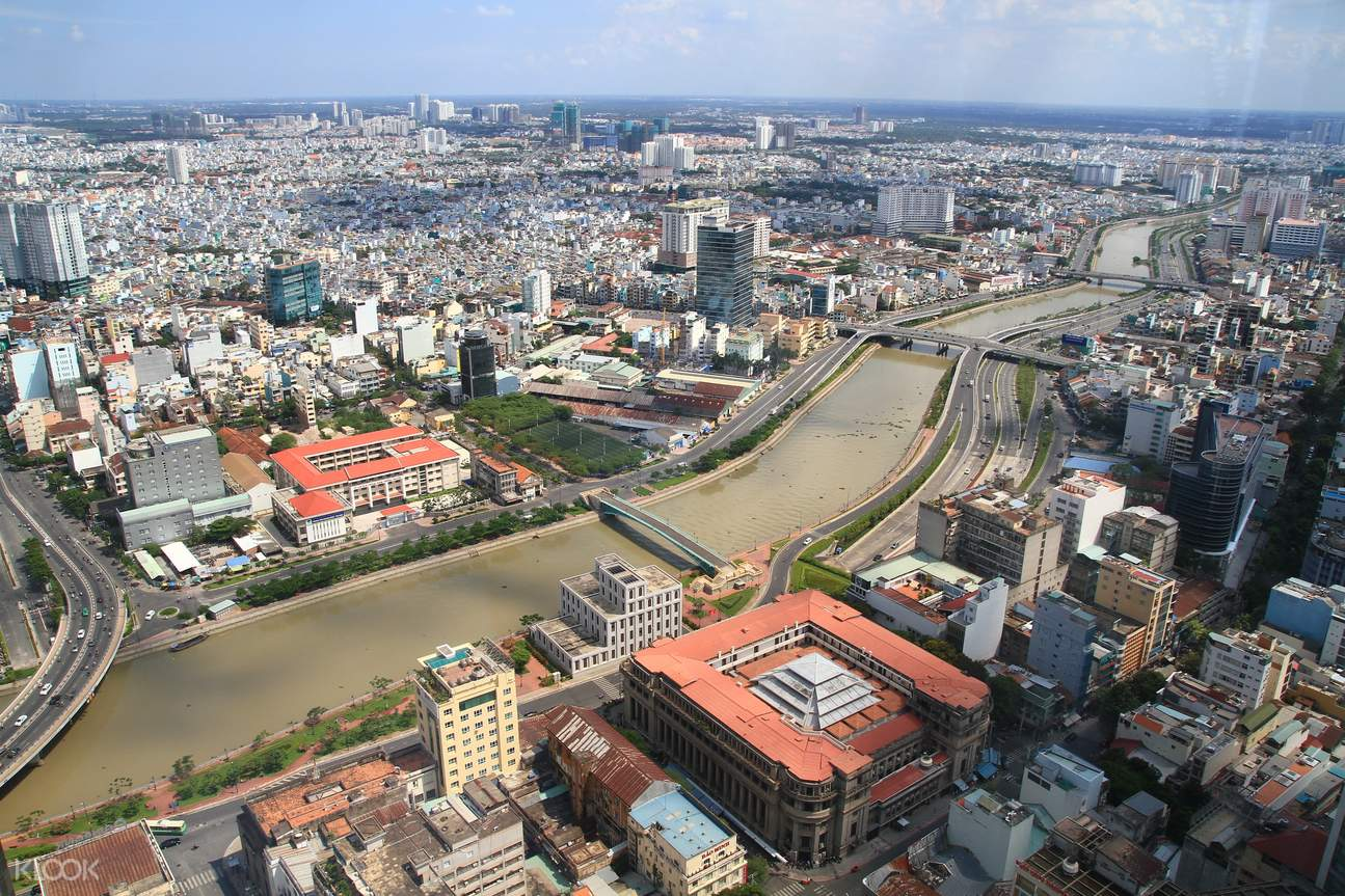 西贡金融塔,西贡观景台,西贡高空观景台