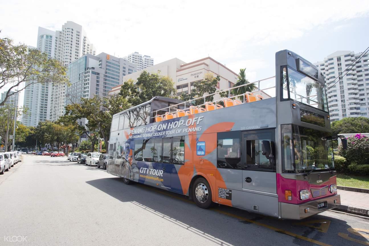 Penang Hop On Hop Off Double-Decker Bus