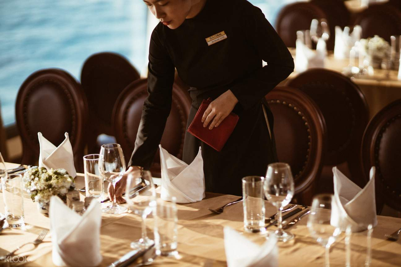 Sea Coral Cruise - Romantic Sunset Journey with Semi-Buffet Dinner
