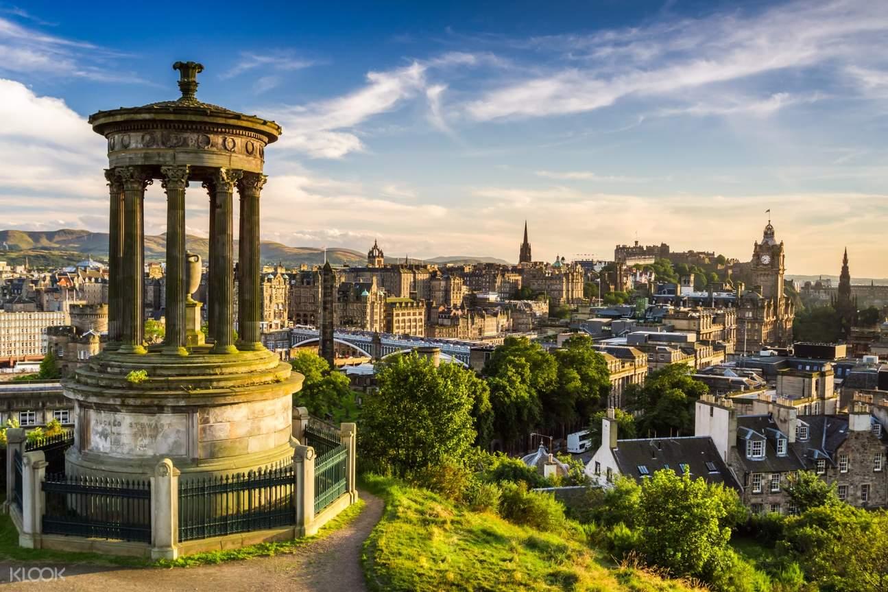 爱丁堡城堡&随上随下巴士一日游(伦敦出发)
