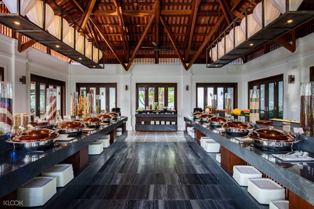 Nhà hàng phong cách Indochine của Anam resort