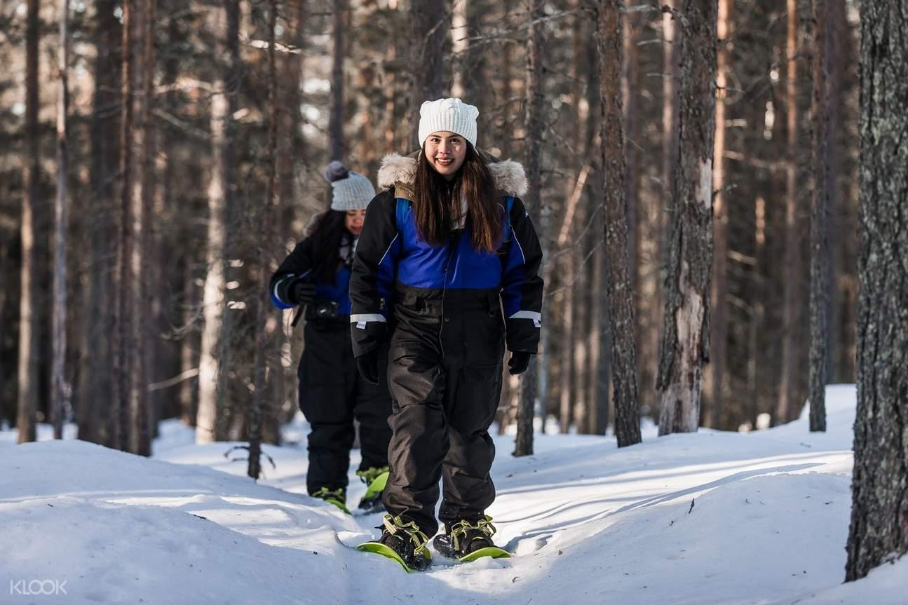 snowshoeing experience tour arctic