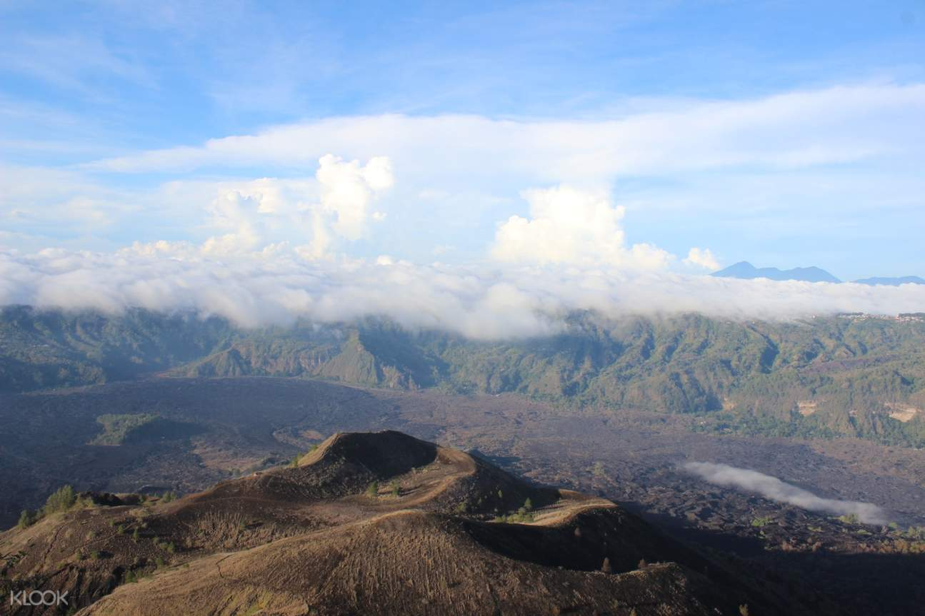view of mount batur