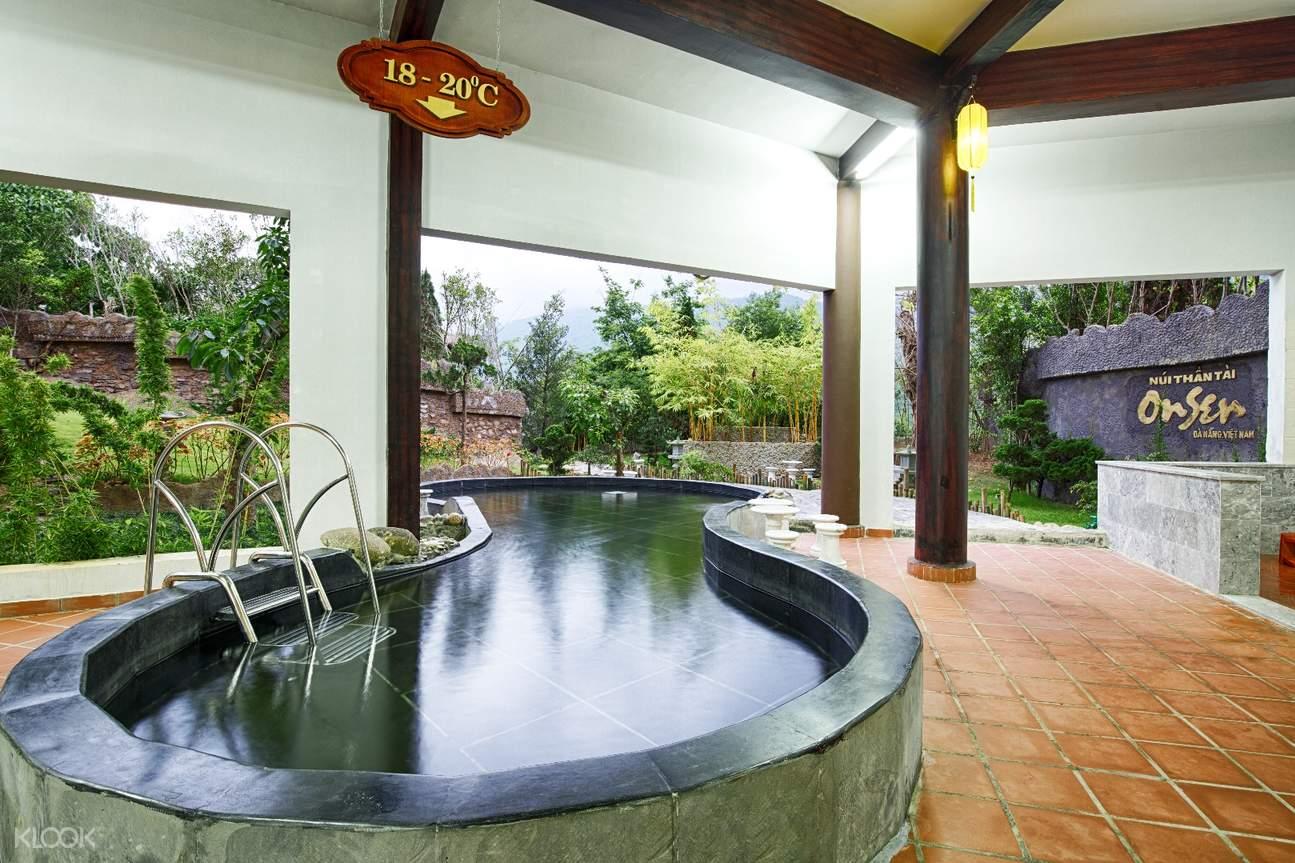 紐倫泰溫泉樂園的溫泉池