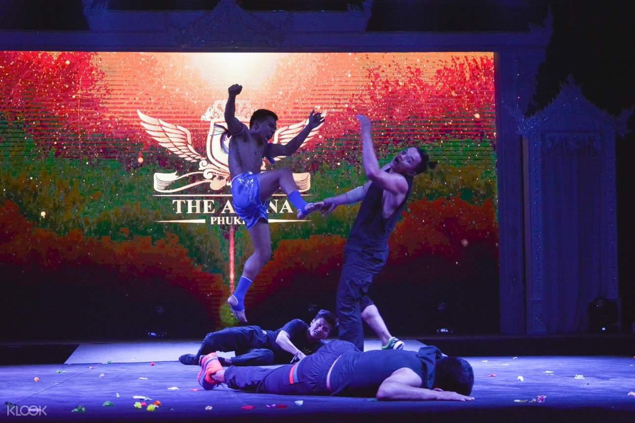 Muay Thai vs Gangster at The Arena Muay Thai Phuket